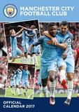 Manchester City - 2017 A3 Calendar Kalendarze