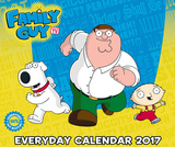 Family Guy - 2017 Page-a-Day Block Calendar Kalenders