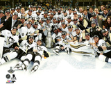 The Pittsburgh Penguins Celebration on Ice Game 6 of the 2016 Stanley Cup Finals Photo