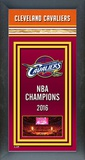 Cleveland Cavaliers 2016 NBA Champions Framed Championship Banner - Wood Frame with Glass Framed Memorabilia