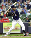 Ryan Braun 2016 Action Photo