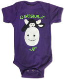 Infant: Dinosaur Jr.- Big Friendly Cow Bodystocking til babyer
