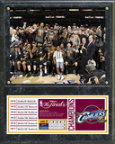 Cleveland Cavaliers 2016 NBA Champions Celebration Down Plaque Wall Sign