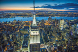 Jason Hawkes- Empire State Building At Night Photo by Jason Hawkes