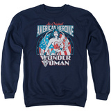 Crewneck Sweatshirt: Wonder Woman- Original American Heroine T-shirts