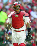 Yadier Molina 2016 Action Photo