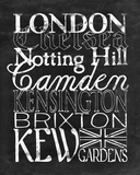 Places to Be - London Posters by Lottie Fontaine