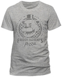 Five Nights At Freddy's- Freddy Fazbear's Pizza (Slim Fit) T-Shirts