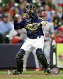 Jonathan Lucroy 2016 Action Photo