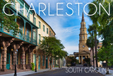Charleston, South Carolina - Street View Posters by  Lantern Press