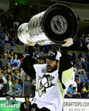 Justin Schultz with the Stanley Cup Game 6 of the 2016 Stanley Cup Finals Photo