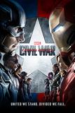 Captain America: Civil War- One Sheet Stampa