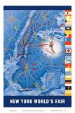 New York City Map - World's Fair 1939 Pósters por Henry Stahlhut