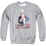 Crewneck Sweatshirt: Army- Uncle Sam Wants You T-shirts