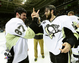 Sidney Crosby & Kris Letang Game 6 of the 2016 Stanley Cup Finals Photo