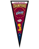 Cleveland Cavaliers 2016 NBA Champions Pennant Fram - Wood Frame, no glass Framed Memorabilia