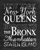 Places to Be - New York Posters by Lottie Fontaine