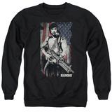 Crewneck Sweatshirt: Rambo:First Blood- Soldier Of Liberty T-shirts