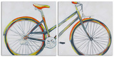 Bicycle Diptych (Set/2) Art