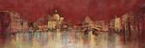 Venice At Night Art by  Kemp