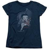Womens: Betty Boop- Patrioic Icon T-shirts