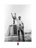 Muhammad Ali- Black Power Salute Plakater