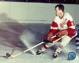 Gordie Howe Action Photo