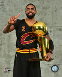 Kyrie Irving with the NBA Championship Trophy Game 7 of the 2016 NBA Finals Photo