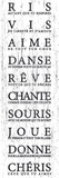 Petites Pensées Kunstdrucke von  The Vintage Collection