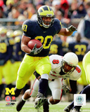 Mike Hart University of Michigan Wolverines 2006 Action Photo