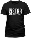 The Flash- S.T.A.R. Labs Emblem (Slim Fit) T-shirty