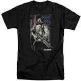 Rambo:First Blood- Soldier Of Liberty (Big & Tall) T-shirts