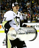 Evgeni Malkin with the Stanley Cup Game 6 of the 2016 Stanley Cup Finals Photo