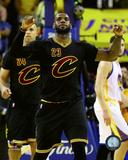 Lebron James celebrates Game 7 of the 2016 NBA Finals Photo