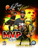 Lebron James 2016 NBA Finals MVP Portrait Plus Photo