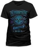 Aerosmith- Aeroforce One From Boston, Ma (Slim Fit) T-Shirt