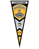 Pittsburgh Penguins 2016 Stanley Cup Champions Pennant Frame - Wood Frame, no glass Framed Memorabilia