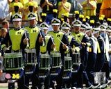 University of Michigan Wolverines Drummers Photo