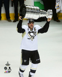 Sidney Crosby with the Stanley Cup Game 6 of the 2016 Stanley Cup Finals Photo