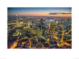 Jason Hawkes- London At Night Prints by Jason Hawkes