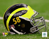 University of Michigan Wolverines Helmet Photo