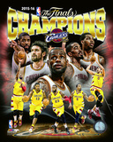 Cleveland Cavaliers 2016 NBA Champions Composite Photo