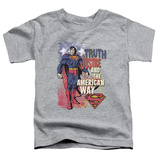 Toddler: Superman- Truth & Justice T-Shirt