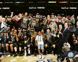 The Cleveland Cavaliers celebrate winning Game 7 of the 2016 NBA Finals Photo