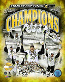 Pittsburgh Penguins 2016 Stanley Cup Champions PF Gold Photo