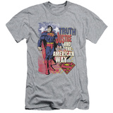 Superman- Truth & Justice (Slim Fit) T-shirts