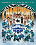 San Jose Sharks 2016 Western Conference Champions Composite Photo