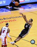 Kawhi Leonard Game 3 of the 2014 NBA Finals Action Photo