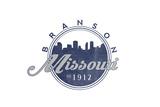 Branson, Missouri - Skyline Seal (Blue) Posters by  Lantern Press