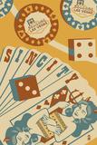 Las Vegas, Nevada - Sin City Posters by  Lantern Press